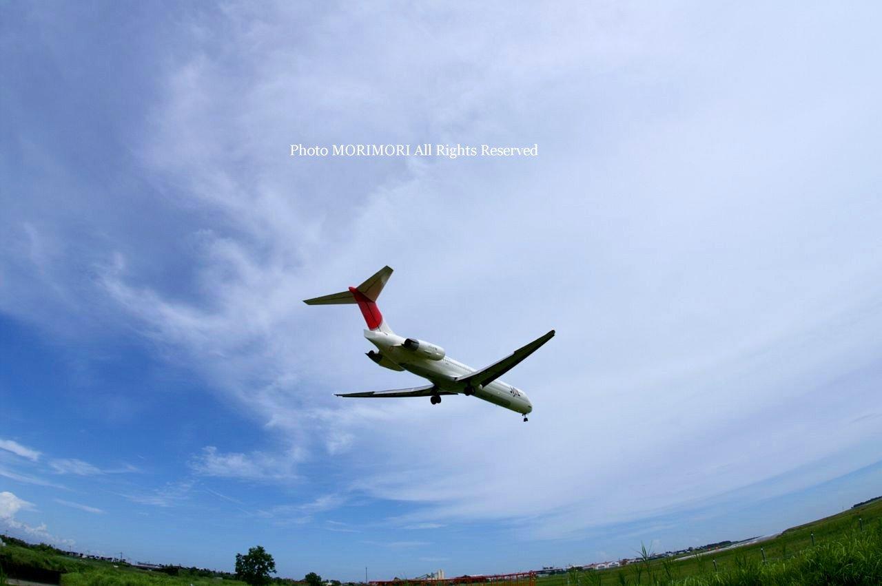 宮崎ブーゲンビリア空港|送迎デッキと飛行機の写真など・・