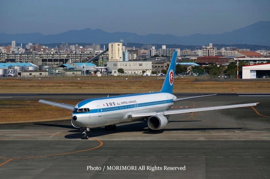 ANA(全日空)モヒカンジェット宮崎ブーゲンビリア空港での写真 ...